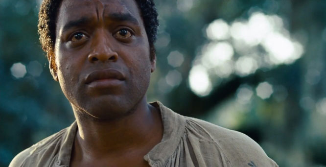 Chiwetel Ejiofor as Solomon Northrup in 12 Years A Slave