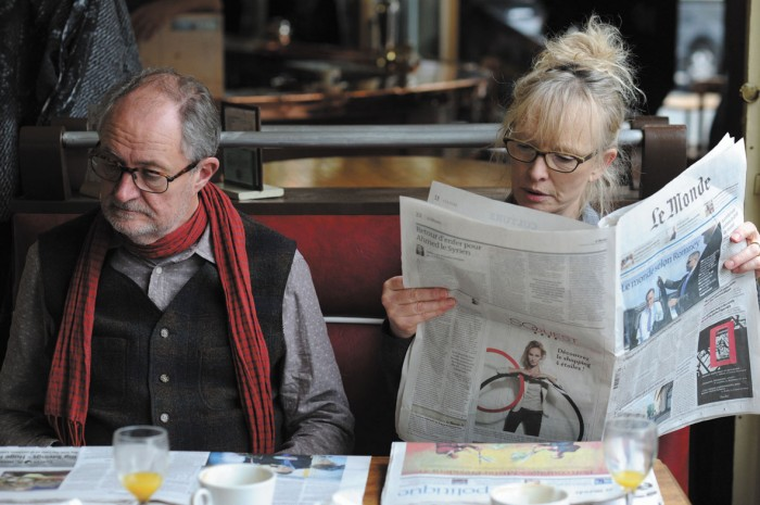Jim Broadbent and Lindsay Duncan