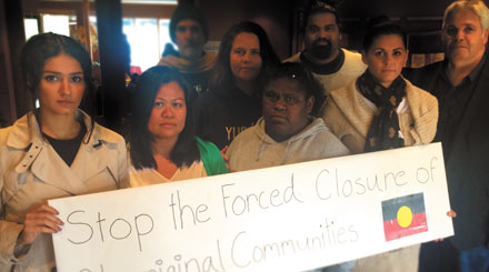Stop forced closure of Indigenous communities