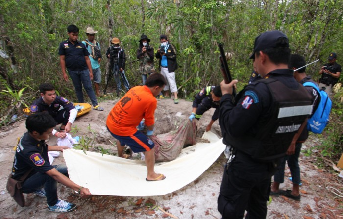 The recent discovery of at least 32 bodies in Thailand's Songkhla province