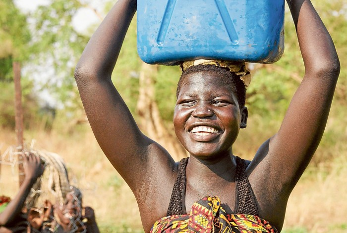 Kama carrying water