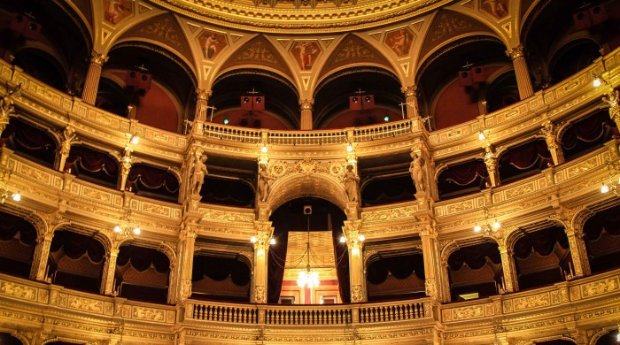 interior of Hungarian State Opera House