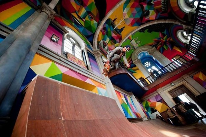 skateboard church