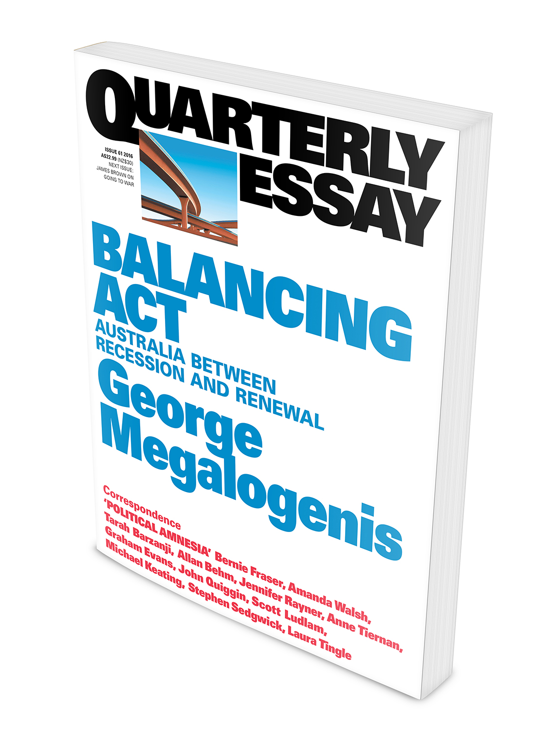 george megalogenis quarterly essay Buy quarterly essay 40 trivial pursuit from dymocks online bookstore find latest reader reviews and much more at dymocks.