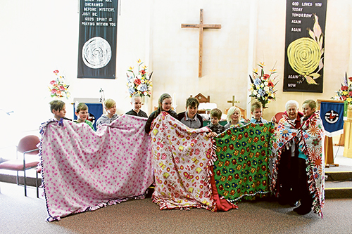 blankets made with love