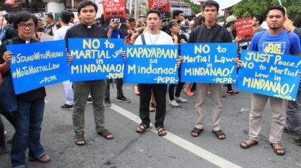 marawi protests
