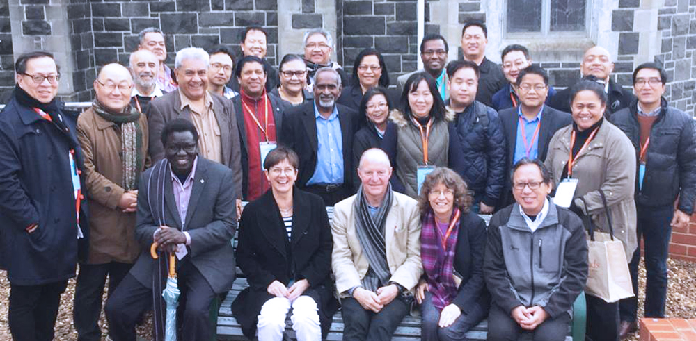 A gathering of culturally and linguistially diverse (CALD) ministers at Synod 2017.