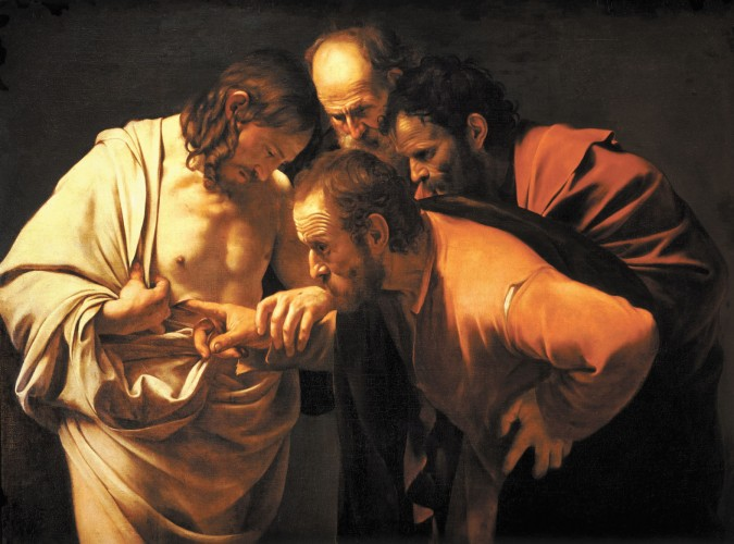 Caravaggio's The Incredulity of St Thomas