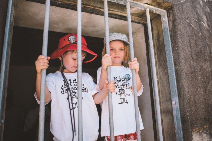 Two little children stare through prison bars longing to be free. Obviously this is a staged photograph, the children pictured will safely go home with their families. But for others the reality is different.  For thousands of children in detention in Australia and our off-shore processing centres right now. In May this year, statistics revealed that 3057 minors (aged under 18 years) were being held in Australian immigration detention centres.