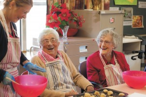 Strathdon cooking day
