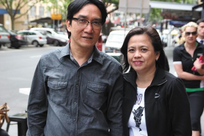 Pastor Berlin Guerrero and Mylene