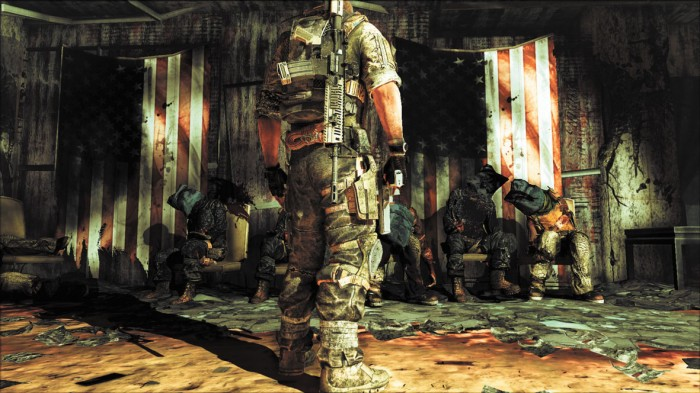 A scene from Spec Ops: The Line