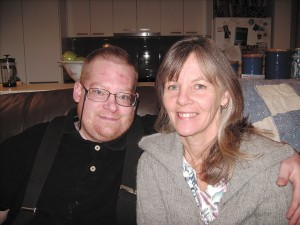 Photograph of Tim and Wendy Elson