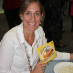 Gail Thannhauser at Pancake Day 2015 breakfast
