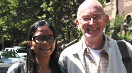 Chutima Sidasathian and Alan Morison