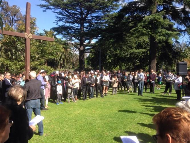 St John's Uniting Church - Good Friday walk