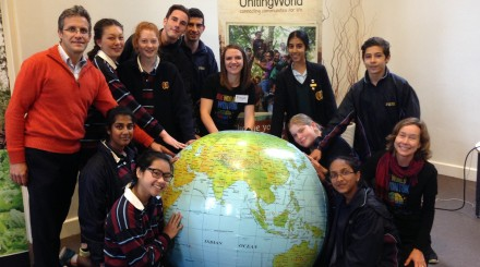 Penleigh and Essendon Grammar students taking part in the One World WonTok Youth Conference.
