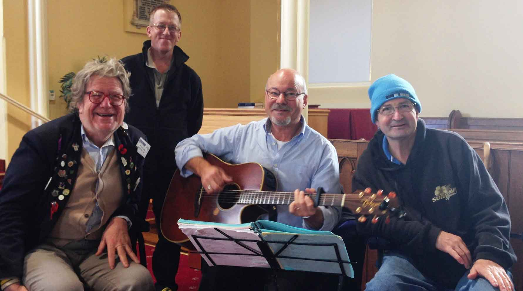 (Left to right: Terry Le May, Rohan Whelan, John Coleman and Wayne Aherne)