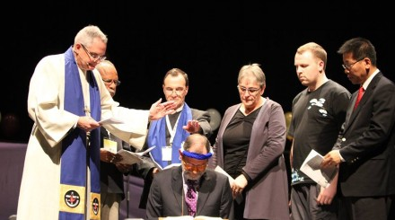 Installation of Uniting Church President  Stuart McMillan