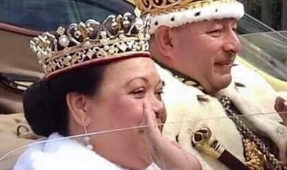 King Tupou VI and Queen Nanasi