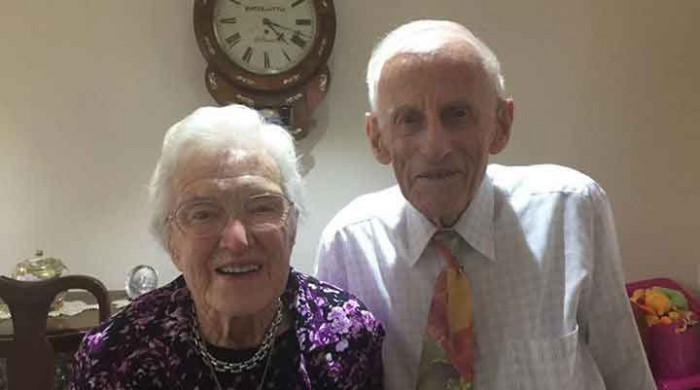 Tom and Joyce Hurle