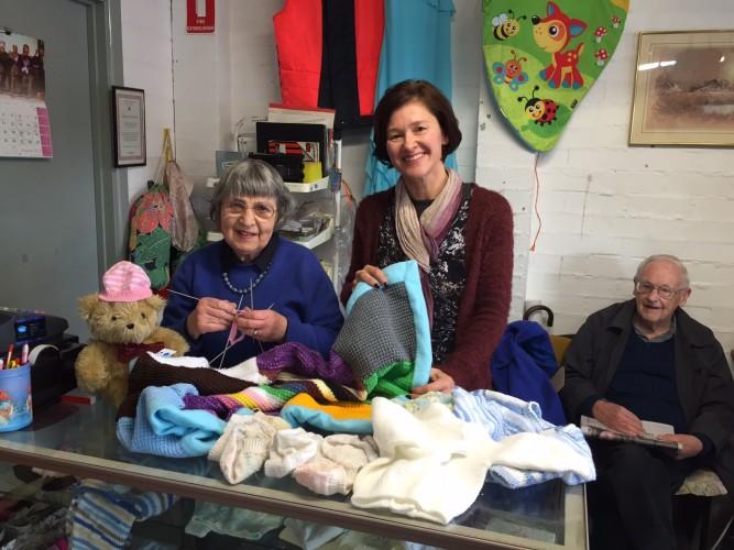 knitting for cambodia