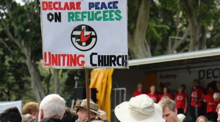 Declare_peace_on_Refugees_UCA_sign_PalmSunday2014_cmprss (2)