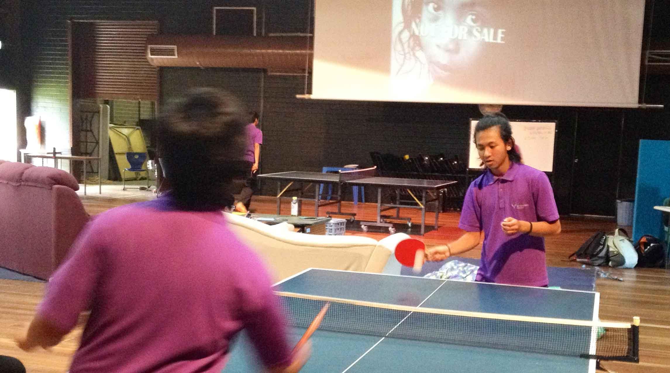 Fighting Sexual Exploitation Through Table Tennis