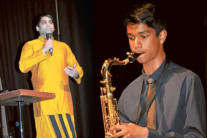 musicians at ConChord concert