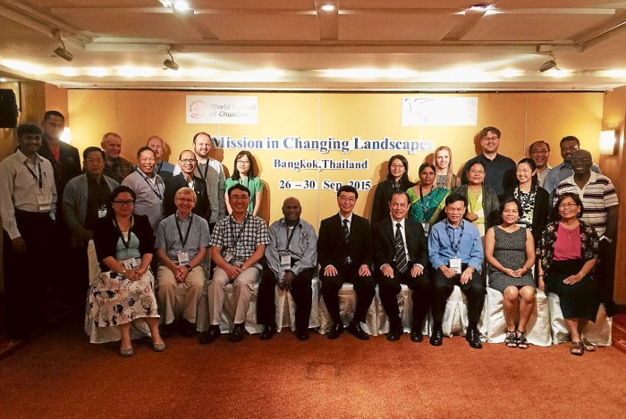 world council of churches mission seminar participants