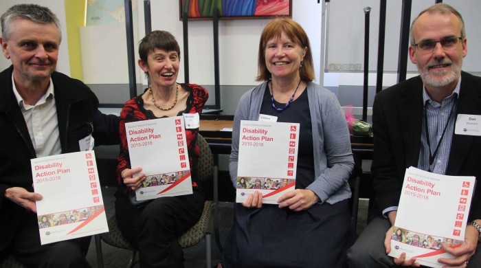 disability action plan launch