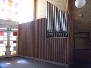 pipe organ at Blackburn North/Nunawading Uniting Church