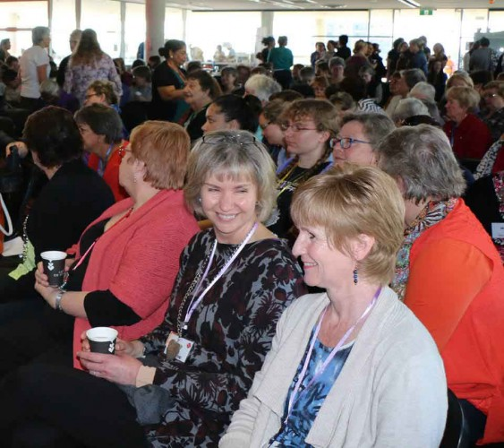 attendees at unitingwomen conference
