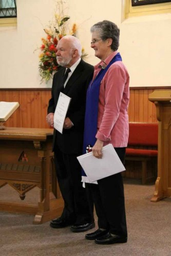 Arthur Tonkin at Surrey Hills Uniting Church