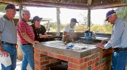 Frontier Services Great Outback BBQ