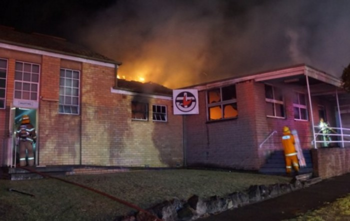 fire at noble park uniting church