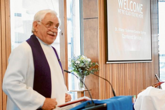 Rev James Stuart Murray