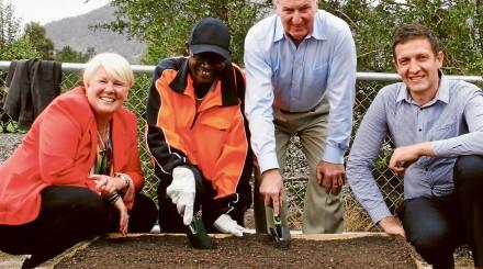 unitingcare tasmania community garden