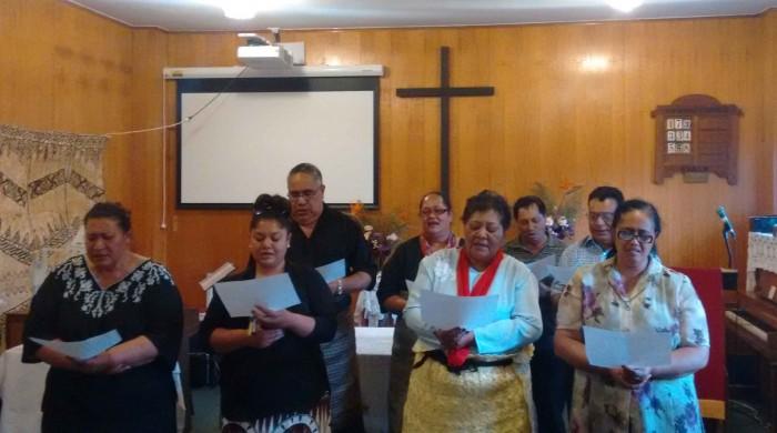 Tongan choir, Robinvale UC