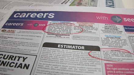 job seeking