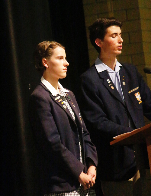 emily and oscar at speech night