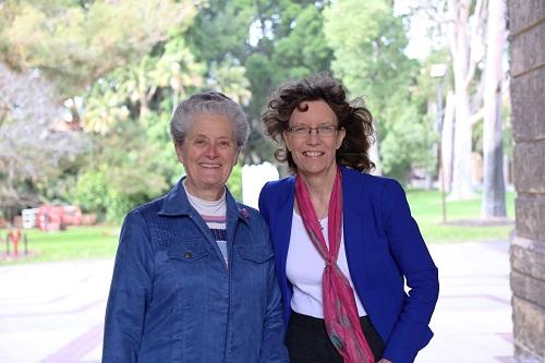 Dr Jill Tabart and Dr Deidre Palmer