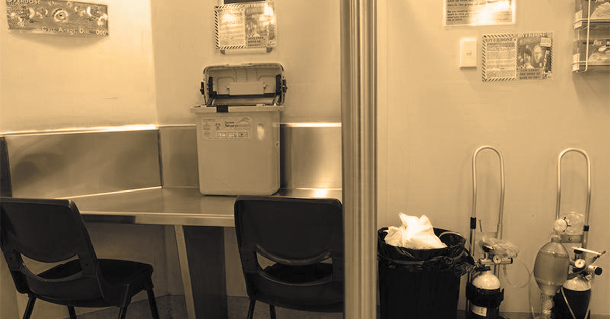 medically supervised injection centres