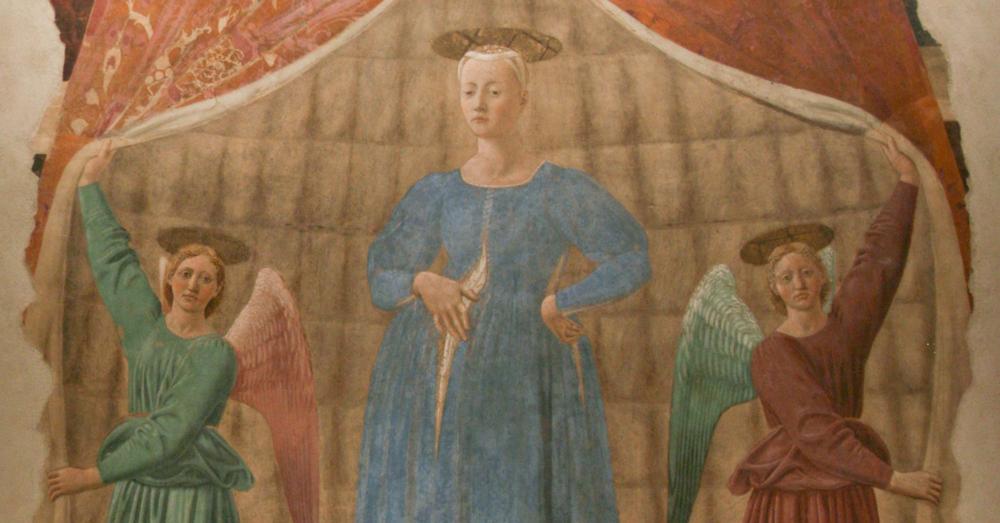 Piero della Francesca's Madonna del Parto