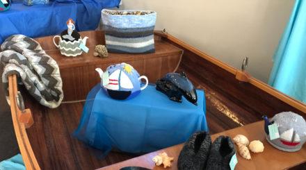 boat tea cosy