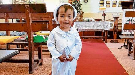 james at baptism