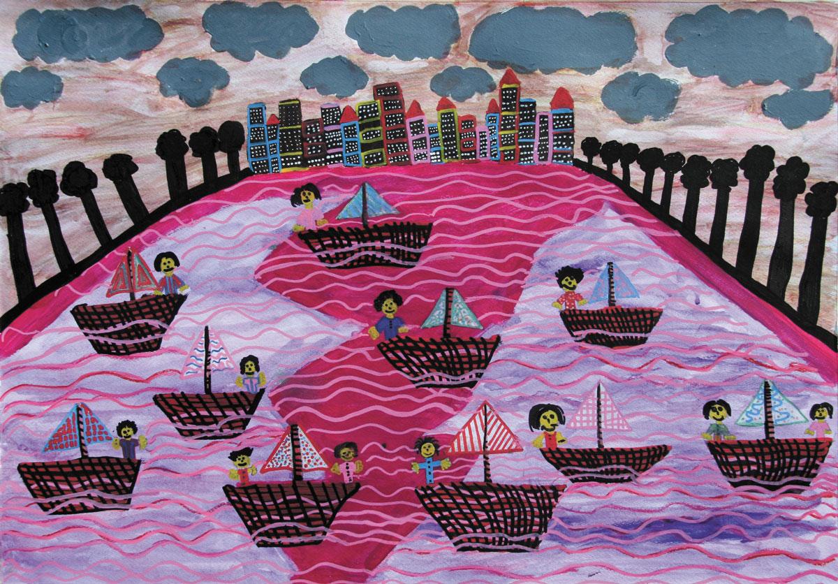 Helen Potton - Life afloat