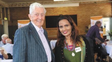 Ray Averill and Jamuna Parajuli