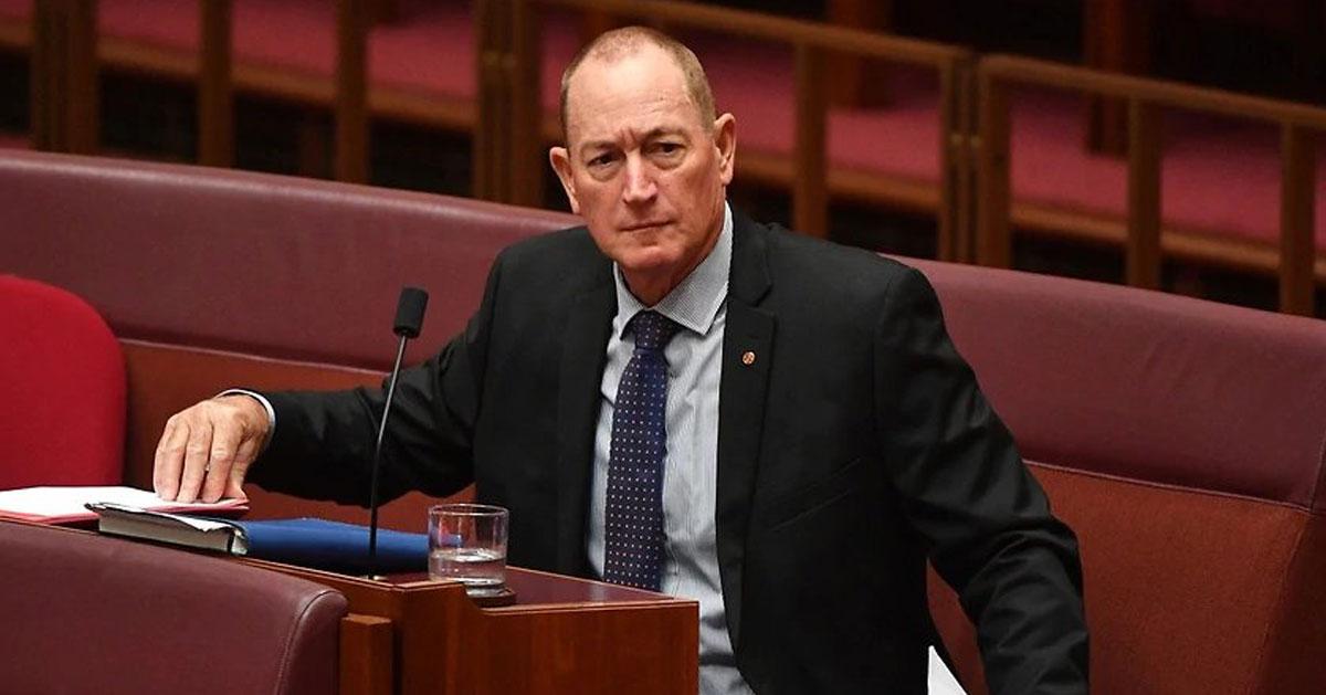 Senator Fraser Anning Update: CrosslightCrosslight