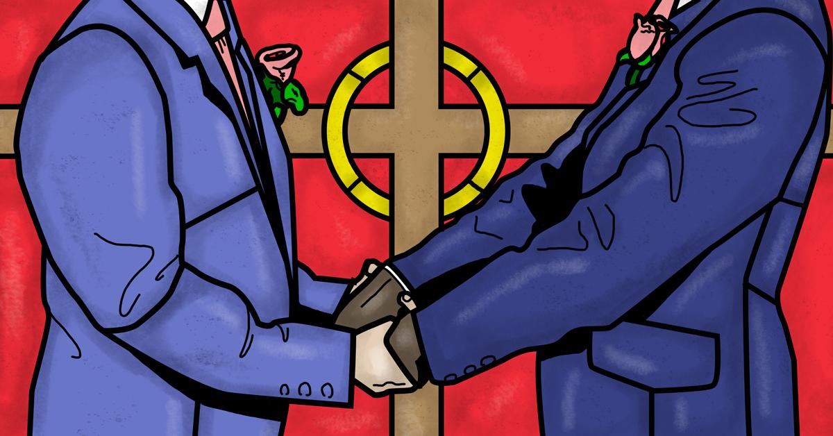 Which presbyterian church allows homosexual marriage